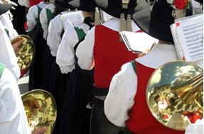 Regional costumes and music